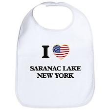 I love Saranac Lake New York Bib