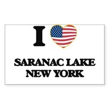 I love Saranac Lake New York Decal