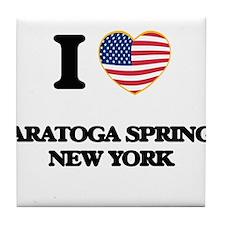 I love Saratoga Springs New York Tile Coaster