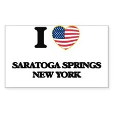 I love Saratoga Springs New York Decal
