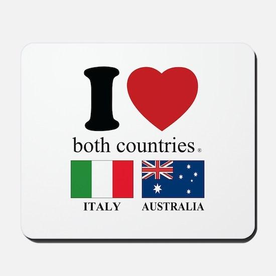 ITALY-AUSTRALIA Mousepad