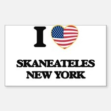 I love Skaneateles New York Decal