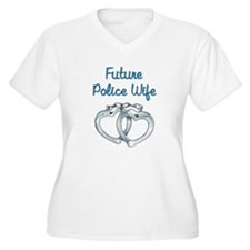 Unique Police officer girlfriend T-Shirt