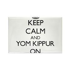 Keep Calm and Yom Kippur ON Magnets