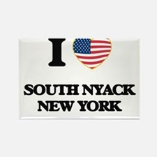 I love South Nyack New York Magnets