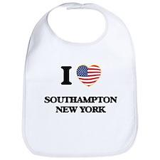 I love Southampton New York Bib
