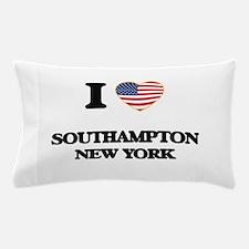 I love Southampton New York Pillow Case