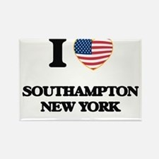 I love Southampton New York Magnets