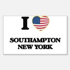 I love Southampton New York Decal