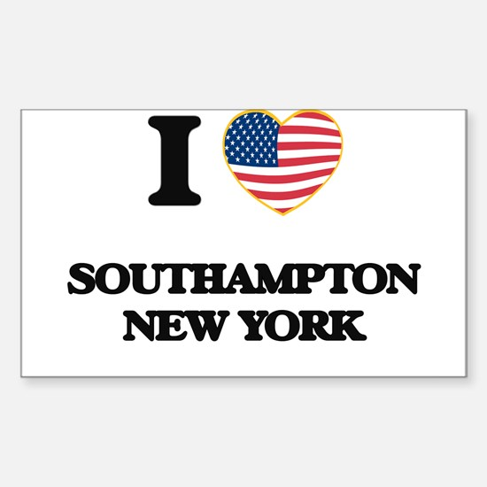 I love Southampton New York Decal