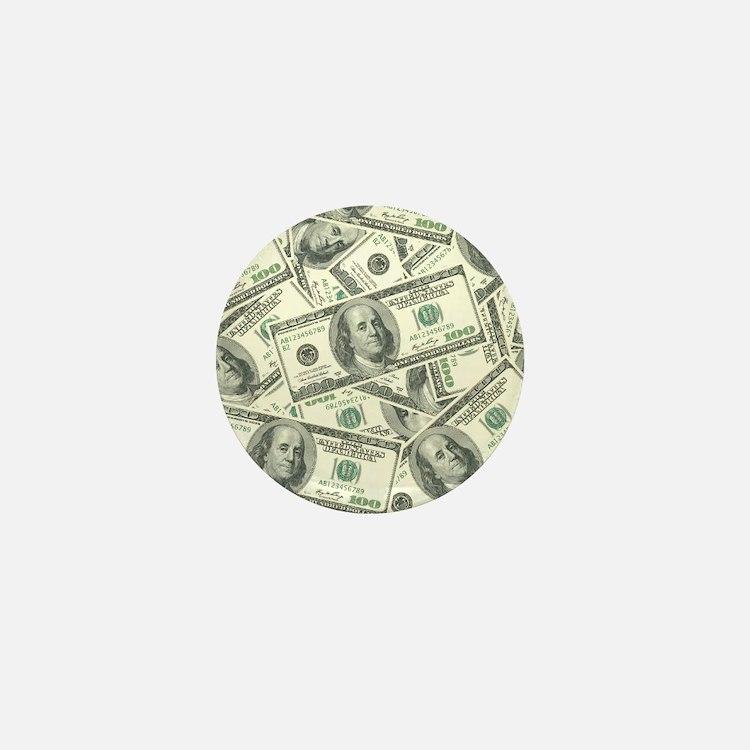 Cute Cash Mini Button
