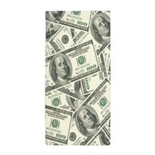 Cute Hundred dollar bill Beach Towel