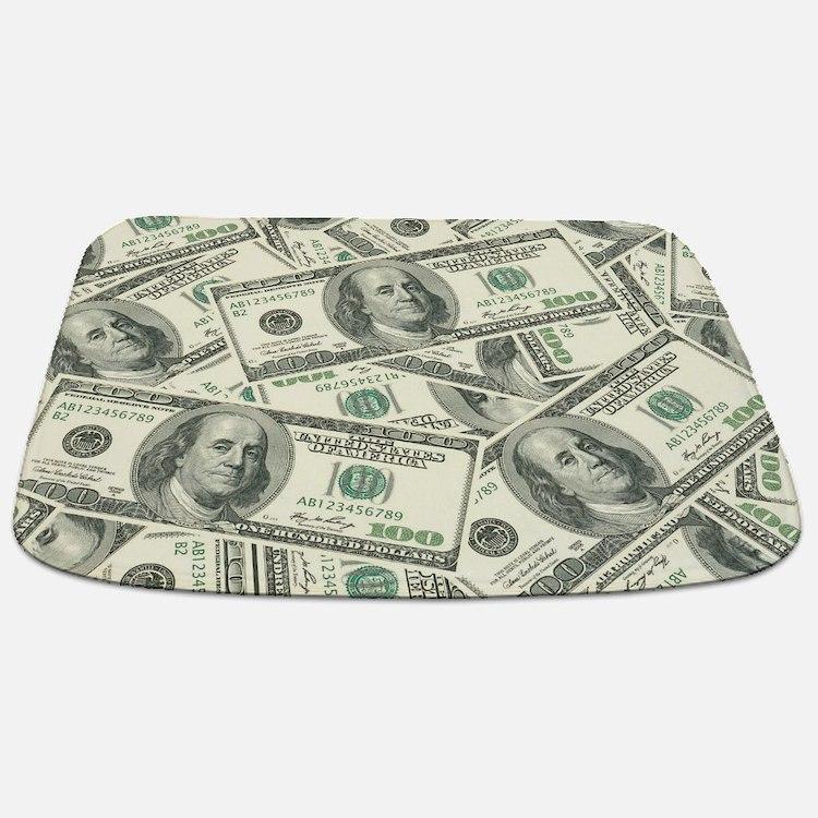 Cute Cash Bathmat