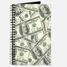 Cute 100 dollar bill Journal