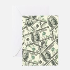 Unique Finance Greeting Card