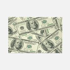 Cute Money Rectangle Magnet