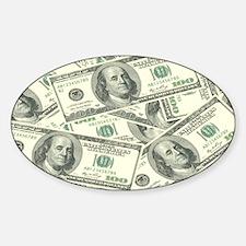 Unique Cash Sticker (Oval)