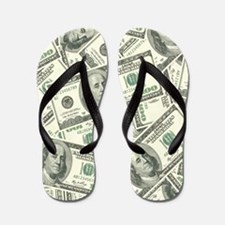 Cute Money Flip Flops