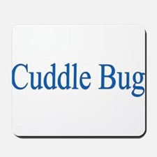 Cuddle Bug Blue Mousepad