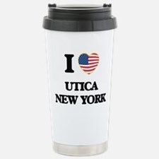 I love Utica New York Travel Mug
