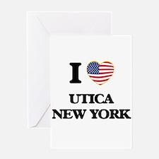 I love Utica New York Greeting Cards