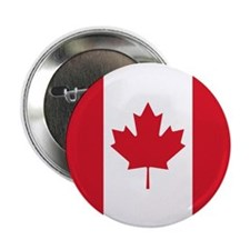 "Cute Canada maple leaf 2.25"" Button"