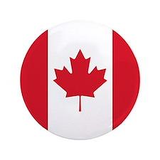 Cute Canada flag Button
