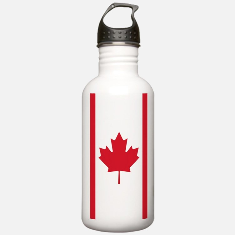 Cute Canadian Sports Water Bottle