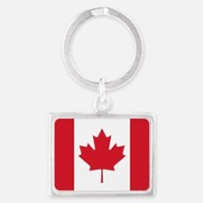 Cute Country flag Landscape Keychain