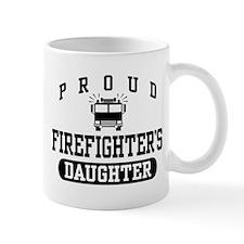 Proud Firefighter's Daughter Mug