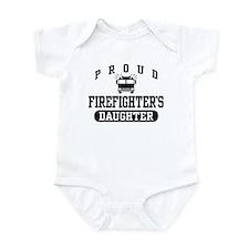 Proud Firefighter's Daughter Infant Bodysuit