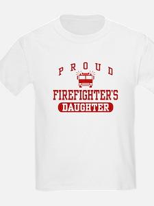 Proud Firefighter's Daughter T-Shirt