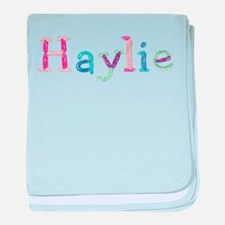Haylie Princess Balloons baby blanket
