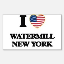 I love Watermill New York Decal