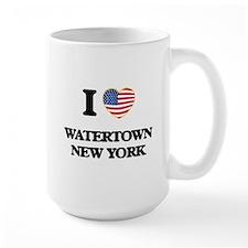 I love Watertown New York Mugs