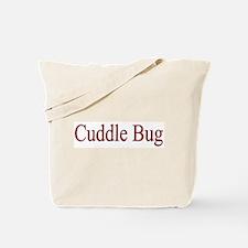 Cuddle Bug Red Tote Bag
