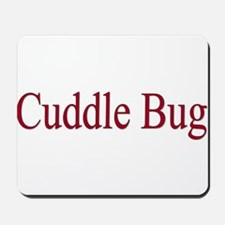 Cuddle Bug Red Mousepad