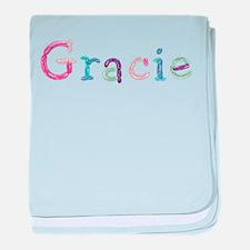 Gracie Princess Balloons baby blanket