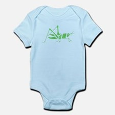 Distressed Green Grasshopper Body Suit