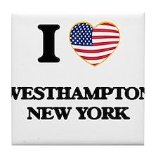 I love Westhampton New York Tile Coaster