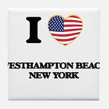 I love Westhampton Beach New York Tile Coaster