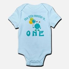 1st Monster Birthday Infant Bodysuit