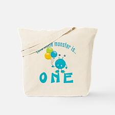 1st Monster Birthday Tote Bag