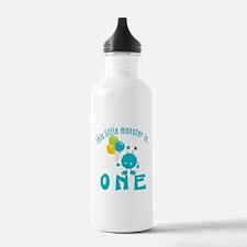 1st Monster Birthday Water Bottle