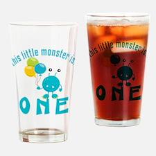 1st Monster Birthday Drinking Glass