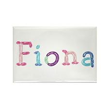 Fiona Princess Balloons Rectangle Magnet