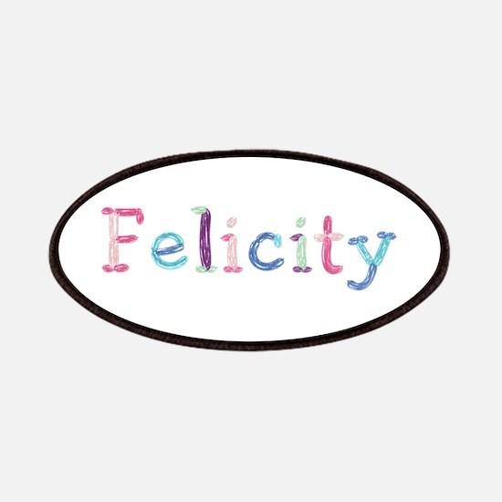 Felicity Princess Balloons Patch