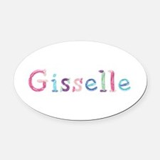 Gisselle Princess Balloons Oval Car Magnet