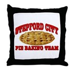 Stepford City Throw Pillow