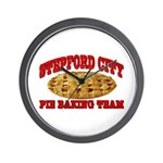 Stepford City Wall Clock